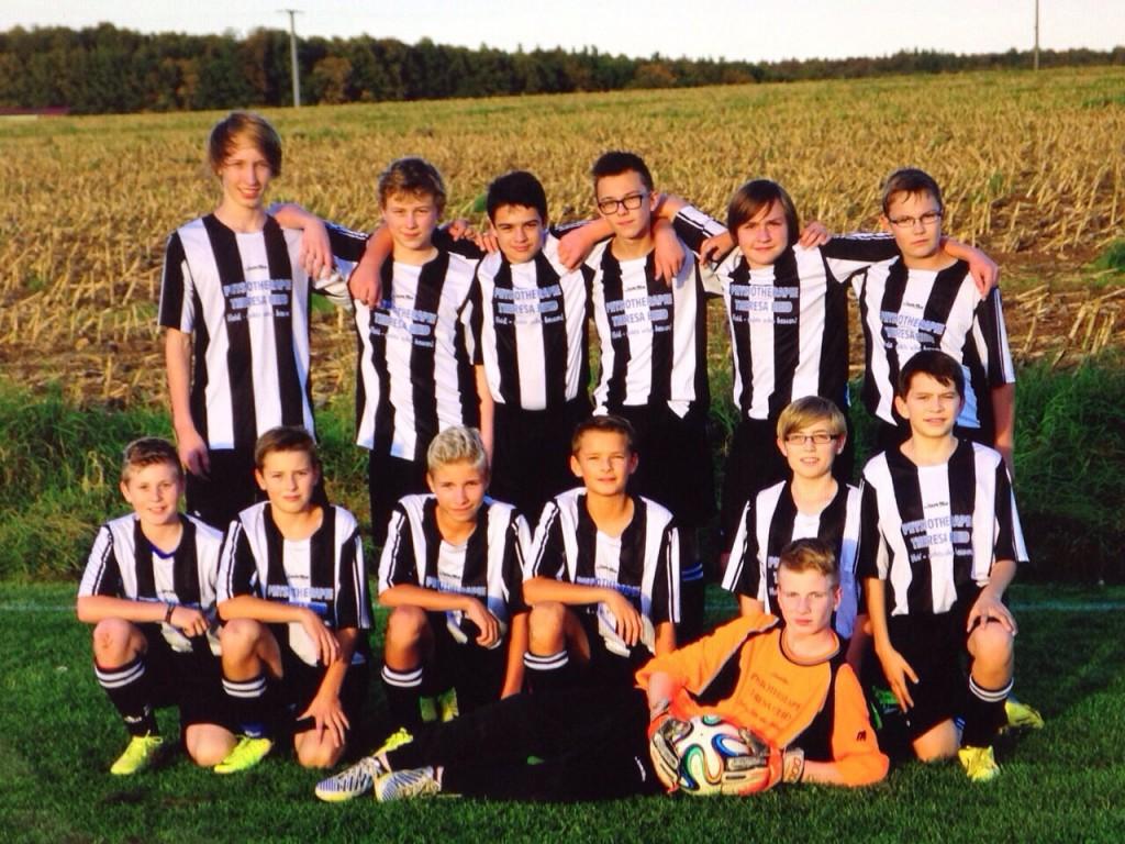 U15 Mannschaft 2014/2015