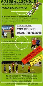 Fußballschule 2018